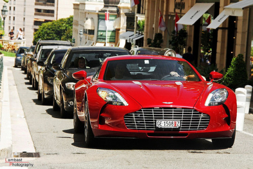 Aston Martin One-77. Photo by Lambast Photography.