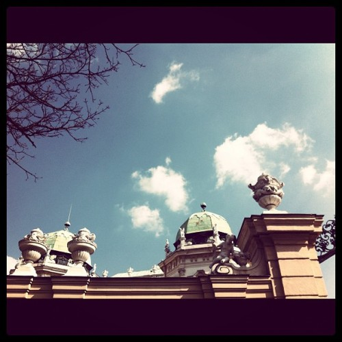 belvedere.  (Taken with instagram)