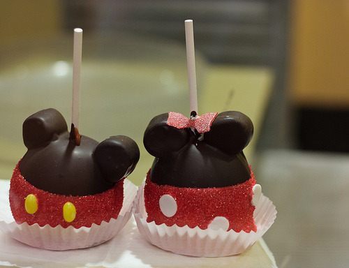 onlythere:  mickey mouse and minnie mouse