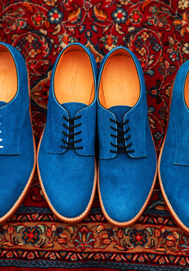 gthegentleman:  Blue shoes