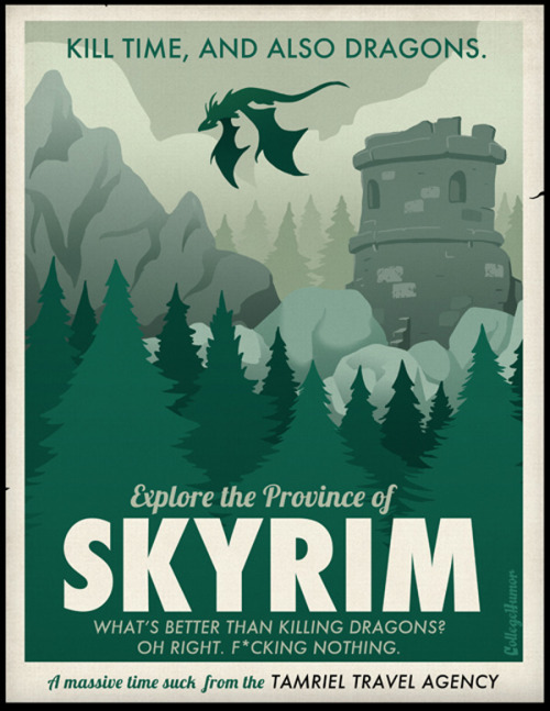 gracemcdunnough:  (via Travel Posters For Lazy People)