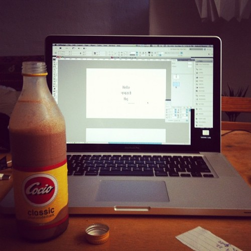 Sunday afternoon / presentation / chocolate milk / yawn  (Taken with Instagram at Tammerisvej)
