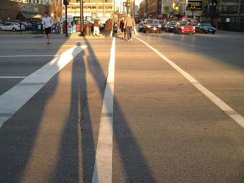 3 of 4 pedestrian deaths this year in Chicago were from hit-and-run crashes (although all drivers have been apprehended). The fourth pedestrian death was a crash with a Metra train. What're we gonna do about it?
