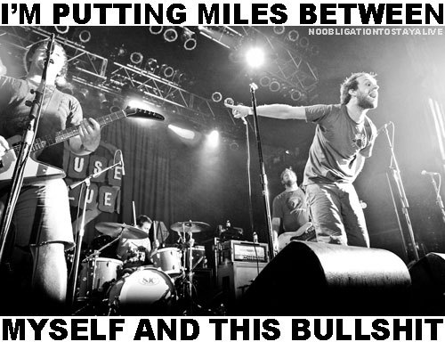 Miles Between Myself.