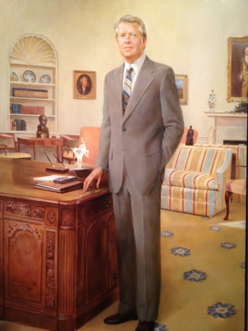 Jimmy Carter Carpet—National Portrait Gallery