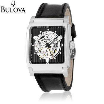(via Bulova Men's Automatic Mechanical Black Dial Strap Watch - Accessory Deal - Tanga)I think I'm ordering this beauty!