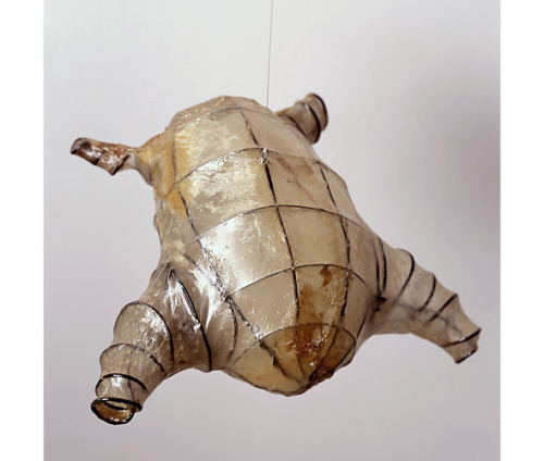 Tim Hawkinson, Untitled (Chicken), 2005. Chicken Skin & Wire