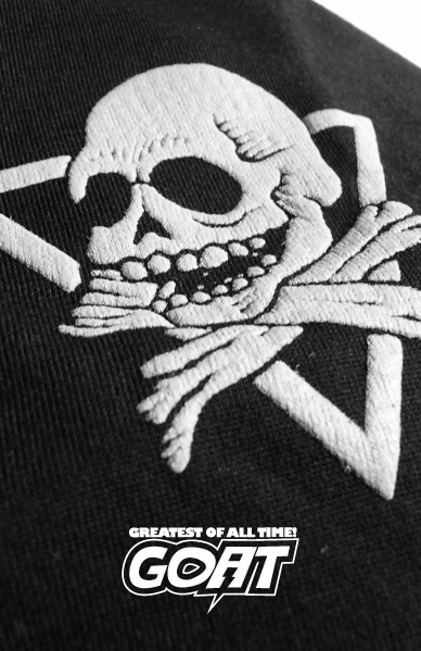 GOAT Skull Crew Poloshirt Available