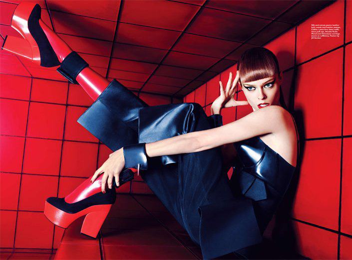 Coco Rocha by Simon Upton for Harper's Bazaar Singapore