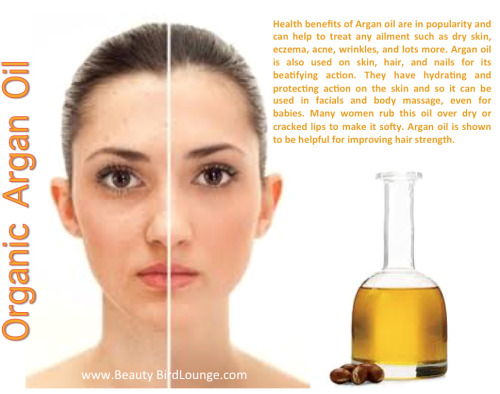 DID YOU KNOW? * Argan oil is a highly effective skin moisturizer with antimicrobial properties. It is a lot more than a simple moisturizer because it does not contain any cholesterol. Argan oil is more effective than other natural skin moisturizers such as shea butter and olive oil due to high content of fatty acids.* It also helps to restore the natural pH of the skin.* Argan oil helps in reducing the wrinkles and softening the skin.* Argan oil has a sebum regulating action on the oily skin that reduces the oiliness.* It has also shown to increase the elasticity and tightening of the skin.* If you are suffering from acne or chicken pox scars, application of argan oil is very beneficial to reduce these blemishes.* Argan oil is also known to neutralize free radicals, treat acne, eczema and psoriasis.* Argan oil has regenerating properties on skin by revitalizing the cell functions that prevent early skin aging due to sun, pollution, stress, smoking, etc.* By application of argan oil on nail, brittle nails can be made stronger.* It can help to reduce skin inflammation and skin irritation, helping to cure numerous dermatological disorders such as eczema, psoriasis and even acne.* Pregnant women can apply argan oil to prevent the onset of stretch marks.* Mineral make up tends to dry skin. Application of 1 – 2 drops of argan oil for 5 minutes, before applying the mineral make-up this problem can be avoided.In short, Argan oil benefits on skin are:* Prevent loss of moisture from the skin* Diminish wrinkles* Anti-aging* Stimulate skin cells* Reduce scarring* Give you softer skin* Prevent stretch marks* Relief for eczema and psoriasis* Restores nutrient content to skin cells