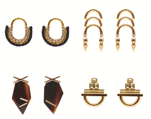 lizzie fortunato jewels resort 2012 collection earrings