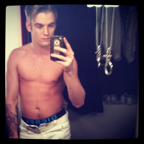 Aaron Carter (personal photo)