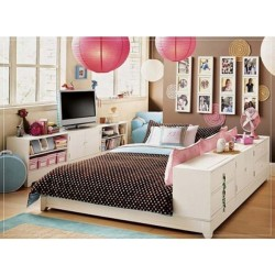 Teen Girl Bedroom Decor | Kids Interior Decorating Ideas
