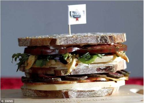Have a hankering for a cheese sandwich? Have a spare $172? Check out the most expensive cheese sandwich!
