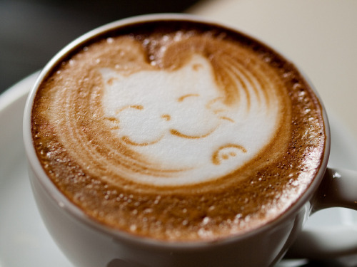 latte art by mloge on Flickr.
