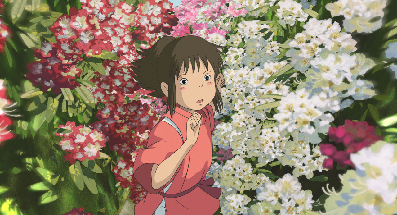 One of my favorite scenes from Spirited Away.