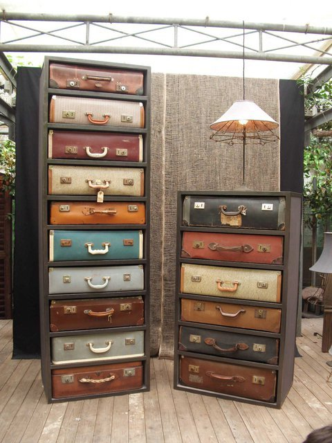 thearchtivist:  Suitcase Drawers by James Plumb