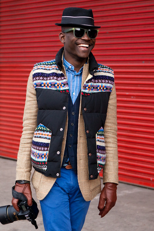 menswearmonday:  layer king #streetstyle