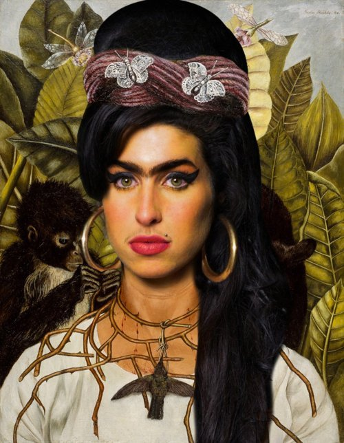 Amy Winehouse as Frida Kahlo