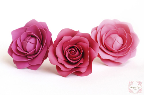 Edible Sugar Rose and Camellias