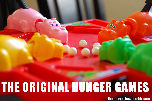 theburgerbox:  The Original Hunger Games…  LOL