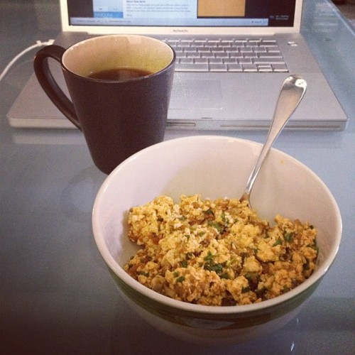 legitimusmaximus:  My very late breakfast. #Coffee #Vegan #Nomz (Taken with Instagram at Ritz Charleston)