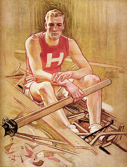 Harvard University Rowing, J.C. Leyendecker