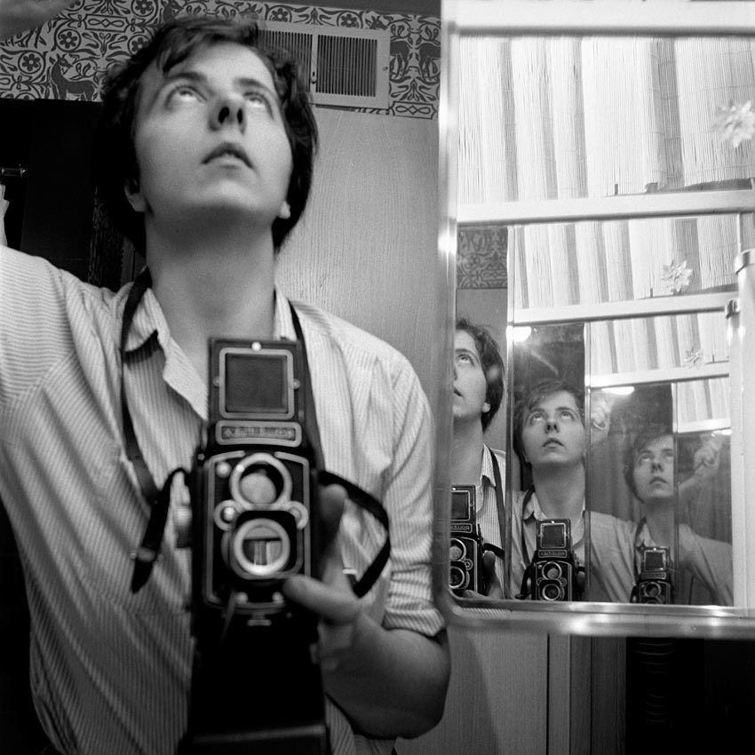 Vivian Maier - Self-portrait [via lacitedesdames]