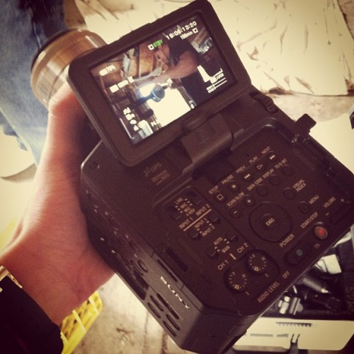 Sony FS-100 (Taken with instagram)