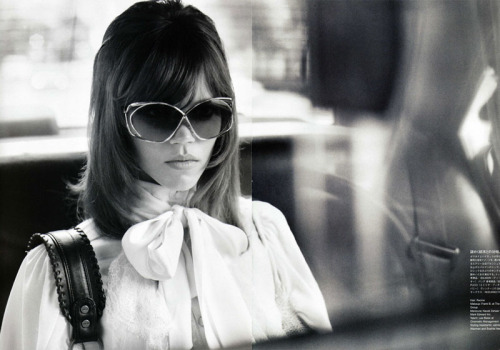 "Freja rode in a cab through the busy streets of New York. It was Spring? Or was it Fall? In fashion it's so hard to keep the seasons straight. That's one of the reasons Freja stepped away for a bit. She yearned for a Brooklyn ease instead of constantly selling to the fast and impatient UES.     Freja was away from home, one of her homes, but she was creating something new, something meaningful with Arizona. Finally, a smile found itself on Freja's face. As quickly as it arrived, it fled as Freja looked out the window and saw a soccer mom placing fliers on cars parked on the street.     Freja fumbled with her purse to find some money to pay for the cab, but the light was about to turn green and the cabby would be speeding away in moments. His English worse than Freja's, he'd never understand what Freja had to do.     ""Here,"" Freja said, throwing her sunglasses in the cabby's lap, ""Those will cover my fare, they're worth more than your life,"" Freja told him, then fled the cab, able to run, unshackled by those high heels she had spend so much of her life crammed in.     The woman with the fliers was carefully lifting up windshield wipers and placing her signs which read MISSING in large red letters.     ""Zona,"" Freja said out of breath, ""What are you doing?""     ""It worked, you're back! I'm amazing!"" Arizona screeched and then wrapped her arms around her sex lion, Freja.     ""I was at the dentist,"" Freja said, confused, but happy to accept the embrace.     ""Everyone's been so worried,"" Arizona said, letting go only to show Freja the flier. Zona's Denmarkian dream took the glossy paper and Arizona said cheerfully, ""I printed them on Vogue quality paper… the benefits of being Ms. Wintour's bitch.""     ""Zona, this is a missing sign, for me, with my Vogue UK cover as the picture.""     ""I know, how many people can say that Testino shot their missing poster? We live a blessed life my Frejysicle. Sorry they are so small though. As I was passing the fliers out, I saw someone made a missing poster for Kate Moss and it was much bigger. They had it stuck on all those construction sites.""     ""That's for her Supreme T-shirt. It's not a missing sign.""     ""Oh good, I was confused how Kate could go missing anyway? It's like if you lost a kitten, someone would scoop that little ball of cute up in a second and be like 'HI YOU LIVE WITH ME NOW'. ""     Slightly perturbed, but agreeable to Arizona's point, Freja looked at the flier and said, ""This is a really nice gesture, but you saw me this morning.""     ""Oh, don't think I forgot, I think I ate my weight in whipped cream. Then, after we got cleaned up, I went to (AGENCY NAME REMOVED) and everyone kept asking 'Where is Freja?' and 'Why has Freja been absent from the Fashion Weeks lately?' and 'Did we get that girl who cut your hair banned from Manhattan yet?' ""     ""I'm sorry you have to answer for me,"" Freja said, depressed that she had burdened her queen with her own personal ""stuff"".     ""Oh, I didn't know how to answer. I was just like, 'Oh no, she's missing? I just got this Brazilian for, like nothing?' and that's when I called Anna. It turns out you being missing was very serious.""     ""But you have my cell phone number, why were you wandering the city trying to find me like I'm Waldo?""      ""Who's Waldo? Who's he signed with? Is that one of Karl's new boy-toys?"" Arizona asked, interested.     ""He's that guy in the red and white striped shirt and the ski hat.""     ""Ew. Is Waldo one of those Brooklyn 'alternative' models that can only shoot Urban and other poor people brands?""     ""Fine, it wasn't like Waldo, but it's just weird you were playing where in the world is Carmen Sandiego with me.""     ""Carmen Sandiego? Did I walk for them? If so we'll have to send an apology letter.""     Freja sighed, how did a little Denmarkian know more about American culture than a girl named after a state?     ""I'm so glad I found you,"" Arizona said, grabbing the tips of Freja's fingers.     ""I'm glad I found you too,"" Freja responded."