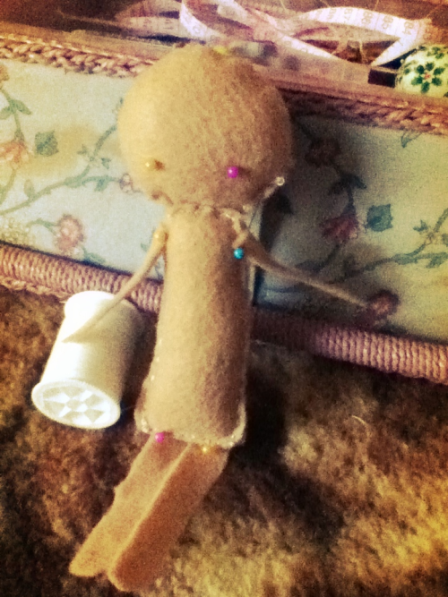 Making a felt doll~