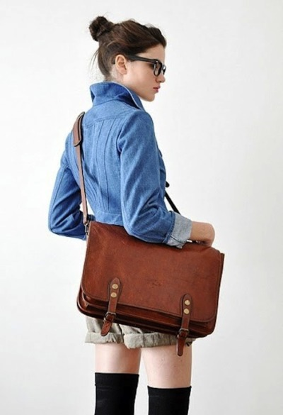 owlloveyou:  that would be a great school bag  androgyny is fabulous.