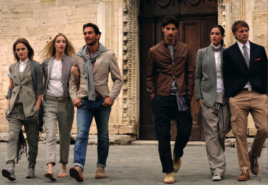 something about Brunello's clothing that just encapsulates Italian luxury.