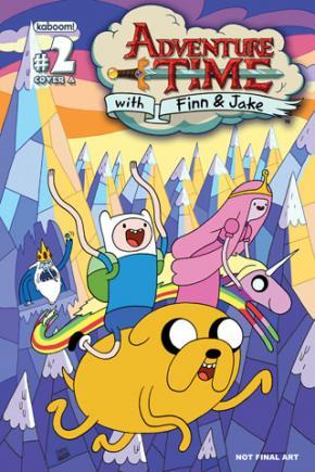 adventure time issue 2 cover 1