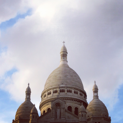 Waiting in the skies (Sacre Coeur)