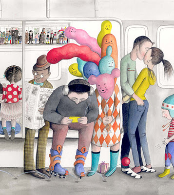 Wonderful illustrations of Sophie Blackall