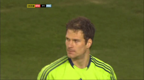 Asmir Begović is sad because he wishes Tony Pulis was still at Happy Valley right now.