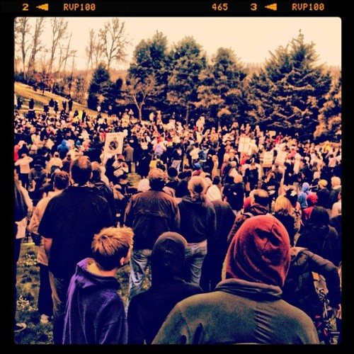 No Justice.. No Peace #1000HoodyMarch (Taken with instagram)