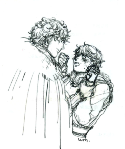 watermonster666:  Robb & Theon  ❤