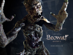 This is the movie Beowulf's interpretation of Grendel and this year while reading the poem again I only pictures him