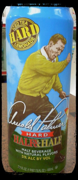 Discovered this today… Arnold Palmer half and half HARD….the noise that came out of my mouth when I saw this wasn't human..lol