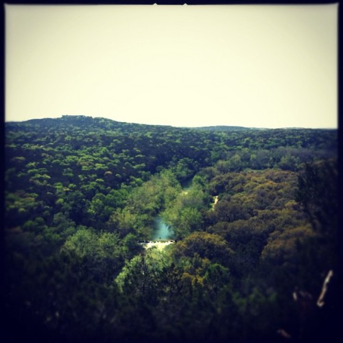 From the top #greenbelt #atx #spring  (Taken with Instagram at Barton Creek Greenbelt)