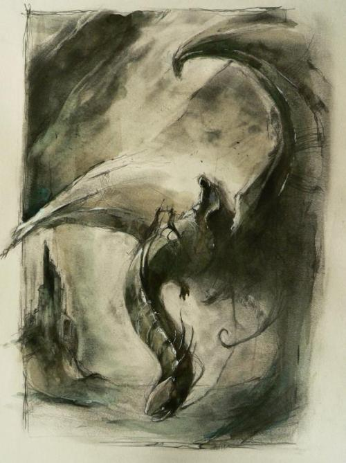 all-about-villains:  Nazgul : By Alexandre Charleux