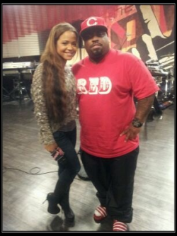 @CeeloGreen and I chilling on the set