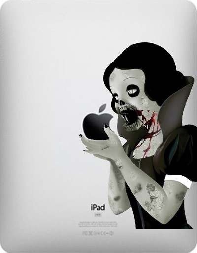 Snow White Zombie iPad Cover