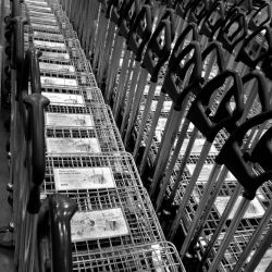 Carts at IKEA, Costa Mesa (March 2012)