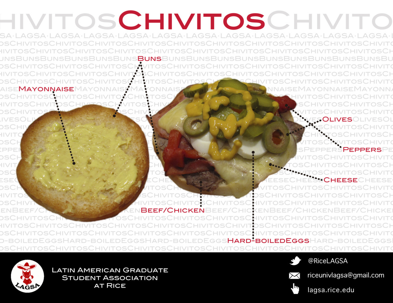 "Did you enjoyed the ""Chivitos"" at the Parranda Latina?? :P"
