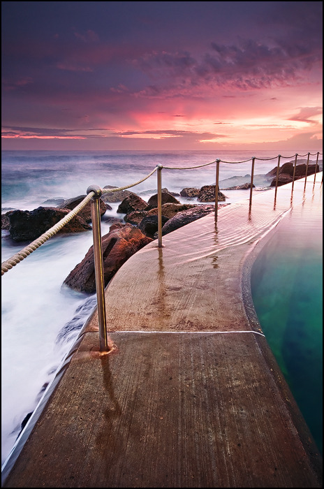 Seaside Pool, Sydney, Australia photo via gen