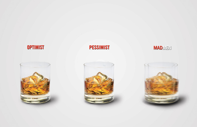 a perfect occasion to post this. mad men ad by bellamurphy.com