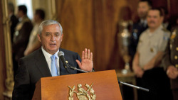 "Central American Presidents Hold Drug Legalization Summit | The Guatemala Times  In a historic meeting in Antigua, Guatemala, Saturday, three Central American heads of state attended a regional summit to discuss alternatives to the current drug prohibition regime, which has left their countries wracked by violence. No consensus was reached and three other regional leaders failed to attend, but for the first time, regional leaders have met explicitly to discuss ending the war on drugs as we know it. ""We have realized that the strategy in the fight against drug trafficking in the past 40 years has failed. We have to look for new alternatives,"" said the host, Guatemalan President Oscar Pérez Molina, a former army general who first called for such a meeting last month, shortly after taking office. ""We must end the myths, the taboos, and tell people you have to discuss it, debate it."" According to the Associated Press, Pérez Molina said that drug use, production, and sales should be legalized and regulated. He suggested that the region jointly regulate the drug trade, perhaps by establishing transit corridors through which regulated drug shipments could pass.  […] US-backed drug policies in the region have in recent years brought a wave of violence to the region, which is used as a springboard for Colombian cocaine headed north to the US and Canada, either direct or via Mexico. Mexican drug cartels have expanded their operations in Central America in the past few year, perhaps in response to the pressures they face at home. High levels of poverty and the strong presence of criminal gangs, particularly in El Salvador and Honduras, have combined with the cartel presence to make the region one of the world's deadliest. El Salvador, Guatemala, and Honduras, along with Jamaica, have the world's highest murder rates. […] Pérez Molina suggested that, barring legalization and a regulated drug trade, consumer countries should be taxed for the drugs seized in the region on their behalf. ""For every kilo of cocaine that is seized, we want to be compensated 50% by the consumer countries, he said, adding that the has a ""responsibility"" because of its high rates of drug use. While Saturday's summit produced no common platform or manifesto, it is an important step in the fight for a more sensible, effective, and humane response to drug use and the regional drug trade. Leading US drug reformer Ethan Nadelmann, head of the Drug Policy Alliance lauded its occurrence as ""significant"" and ""remarkable."" ""The rapid evolution of this debate is nothing short of remarkable,"" he said. ""It has progressed in just a few years from the advocacy of activists and intellectuals, to distinguished former presidents, and now to current presidents demanding that all options, including decriminalization and legalization, be seriously evaluated and debated,"" he noted. ""The significance of this meeting cannot be overestimated, notwithstanding the fact that no one expects a consensus to emerge from this meeting on alternative drug policies,"" Nadelmann continued. ""Virtually no one would have predicted"" that such a meeting could take place ""with the support of presidents in Mexico and Colombia, to discuss drug policy options including decriminalization and legalization. What was once taboo is no longer. The discussion will continue next month at the Summit of the Americas — in Cartagena, Colombia — with President Barack Obama and virtually all other heads of state from the region in attendance. At this point it is no longer possible to put this genie back in the bottle."" full article"